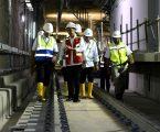 Presiden RI Meninjau Proyek MRT Dan Berharap Pembangunan Selesai Tepat Waktu