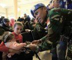 Prajurit Wanita TNI Memperingati Women's Day di Lebanon
