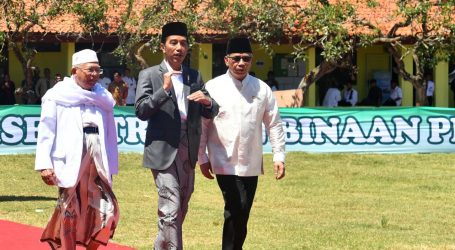 Presiden Resmikan Bank Wakaf Mikro di Banten