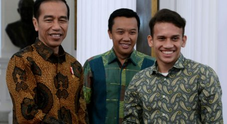 Presiden Berharap Pesepak Bola Muda Terinspirasi Sukses Egy Maulana