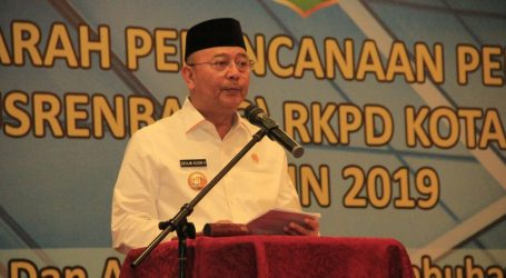 Wali Kota Buka Musrenbang RRKPD Kota Medan 2019