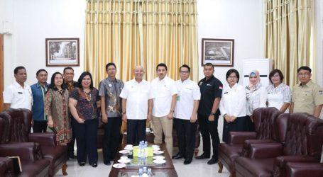 Wali Kota Terima Audiensi KNPI dan Dinas Tenaga Kerja