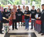 Wali KotaApresiasi  Road Show Komunitas Penulis Donasi 1.000 Buku