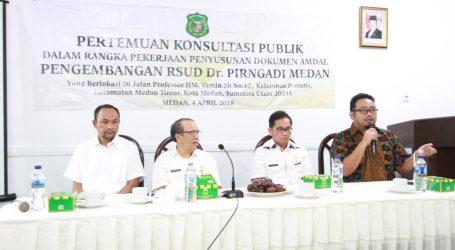 Pengembangan RSUD Dr Pirngadi Untuk Tingkatkan Derajat Kesehatan Warga