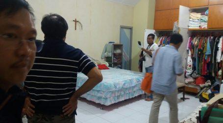 Rumah Turino Dibobol Maling, Polsek Medan Baru Olah TKP