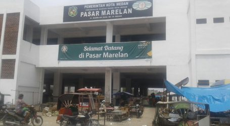 Ratusan Pedagang Pasar Mini Marelan Nyaman Di Tempat Baru