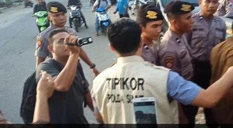 Polda Sumut Tangkap Tangan Pegawai Dinas Perizinan Pemko Padang Sidempuan