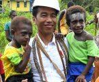 Presiden Optimistis Pembangunan Infrastruktur di Asmat Berjalan Lancar Pasca KLB Gizi Buruk