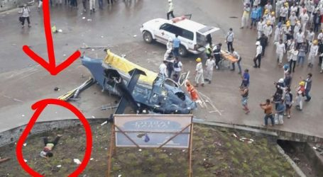 Helikopter Jatuh, Aris Heni Irawan Tewas Tertimpah Baling-Baling