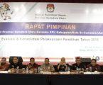 KPU Sumut Gelar Rapim Evaluasi Pelaksanaan Pilgubsu