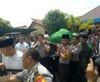 Jenazah Waka Polres Labuhanbatu Diberangkatkan Ke Kabupaten Simalungun