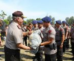 Kapolda Sumut Berikan Pengarahan Pada 560 Personil di Mako Brimob Tebing Tinggi