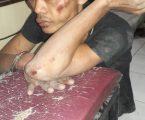 Terekam CCTV Curi Kreta Kawan di Warnet, Manik Dibonyoki Massa