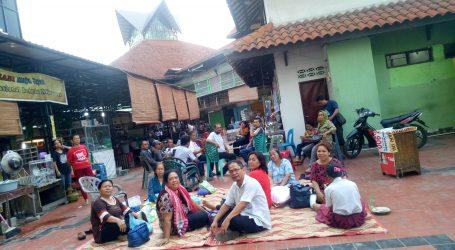 Puluhan Pedagang Pasar Pringgan Tolak Dikelola Oleh Perusahaan Swasta