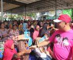 Wali Kota Bagikan Paket Sembako Kepada 2.000 Warga  Kurang Mampu Di Marelan