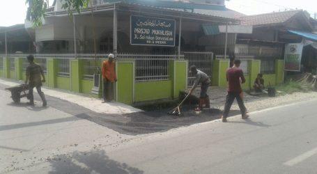 Jamaah Masjid Al Mukhlisin  Berterima Kasih Kepada Wali Kota