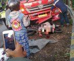 Motor NMAX Lawan Truck di Jalan Purwakarta, Dadang Tewas Bersimbah darah
