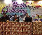 Ketua KPU Sumut Buka Acara Media Gathering