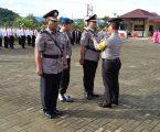 Kompol Parohon Tambunan Akhiri Karir, Polres Tapteng Gelar Upacara Pedang Pora