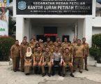 Tim Penilai Kelurahan 2018 Apresiasi Baik Program Kelurahan Petisah Tengah, Termasuk Kegiatan Gotongroyong