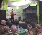 Polsek Sunggal Polrestabes Medan Menghadiri Acara Undangan Peringatan Isra'Mikraj Nabi Besar Muhamad SAW 1439 H / 2018