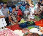 Harga Sembako Jelang Ramadhan Di Pasar Sibolga Stabil