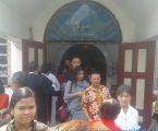 Kapolsek Medan Helvetia Sambangi Gereja GPIB Karunia kasih