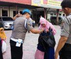 Antisipasi Teror Bom, Polsek Percut Sei Tuan Perketat Penjagaan