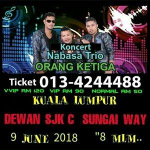Konser di Kuala Lumpur – 9 Juni 2018