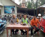 Beri Rasa Aman, Bripka Yuliaman Zendato Laksanakan Pengamanan Ibadah Di BNKP ORSIB