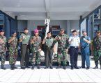 Danlantamal VI Makassar Terima Kunjungan kerja Tim Sesko TNI
