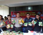 Direktorat narkoba Polda Sumut Gagalkan Peredaran Narkoba Malaysia-Aceh