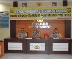 Jajaran Polres Musi Rawas adakan Rapat Pengamanan Menyambut Hari Raya Idul Fitri 1439 H