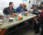 Kapolres Pelabuhan Belawan Bagi Takjil Bersama Wartawan (IJMU) Medan Utara Kepada Pengguna Jalan
