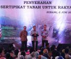 Jokowi Ucapkan Terima Kasih kepada Jajaran ATR/BPN
