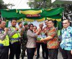 Plt.Ketua DPD Partai Demokrat Sumut Kunjungi Pos PAM Polsek Medan Helvetia
