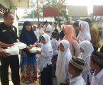 PT PCM Medan Berikan Santunan Kepada Anak Yatim