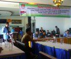 KPU Kota Gunungsitoli Selenggarakan Rapat Pleno Penetapan DPS