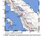 Gempabumi Tektonik M 3,3 Dirasakan Di Tapanuli Utara, Sumatera Utara