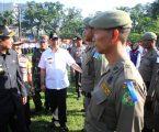 Wali KotaApresiasi  Digelarnya Apel Gelar Pasukan  Operasi Ketupat Toba 2018