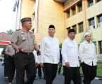 Wali Kota Hadiri Buka Puasa Bersama Dengan Kapoldasu & Tiga Pilar
