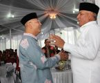 Kapoldasu Hadir Pada Open House di Rumah Dinas Walikota Medan