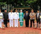 Wali Kota Pimpin Upacara Bendera Hari Jadi Kota Medan Ke-428