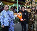 Kolaborasi Batik Medan dan JFC Pukau  Pengunjung Colorful Medan Carnival