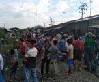 Pasutri Pedagang Ikan Asin Ditabrak Kereta Api, 1 Tewas dan 1 Kritis