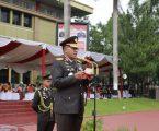 Upacara Peringatan HUT Ke-72 di Polda Sumut Berlangsung Penuh Khikmat