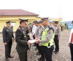 Upacara Hut Bhayangkara Ke-72,10 Personil Polres Pakpak Terima Penghargaan