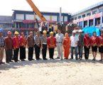 Pembangunan Gedung Baru Dinas Pengelolaan Pajak dan Retribusi Daerah Jalan SM Raja Berbiaya 26 M