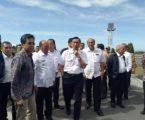 Bupati Taput Rapat Koordinasi bersama Menko Luhut Panjaitan Kemajuan Pengembangan Infrastruktur Pendukung Destinasi Pariwisata Danau Toba, Bandara Silangit dan Bandara Sibisa