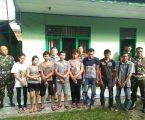 Intel Kodim 0203/Lkt Babat Habis 8 Pelaku Narkoba Ditangkap Dalam Sehari